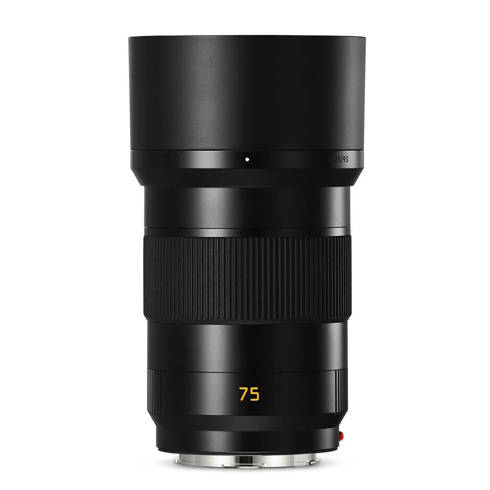 LEICA APO-SUMMICRON-SL 75MM F/2 ASPH BLACK ANODIZED FINISH