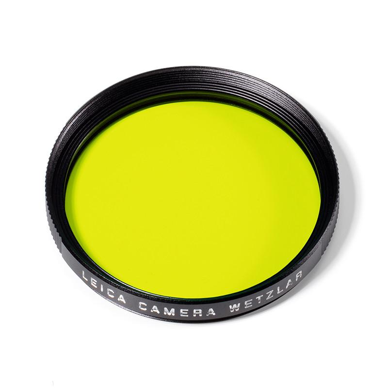 LEICA E46 YELLOW FILTER, BLACK