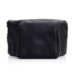 LEICA M10 LEATHER POUCH, BLACK, SMALL FRONT