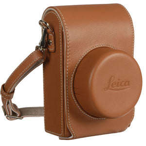LEICA CAMERA JACKET CASE, LEATHER, FOR D-LUX (TYP 109)