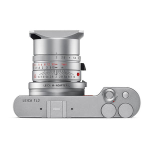 LEICA M-ADAPTER-L, SILVER FOR L-MOUNT CAMERAS