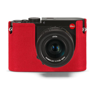 LEICA Q LEATHER PROTECTOR, RED
