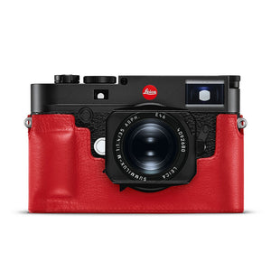 LEICA M10 LEATHER CAMERA PROTECTOR, RED