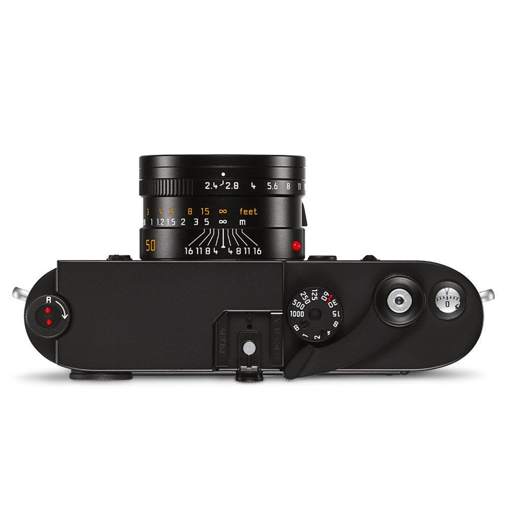 LEICA M-A (TYP 127) BLACK CHROME FINISH