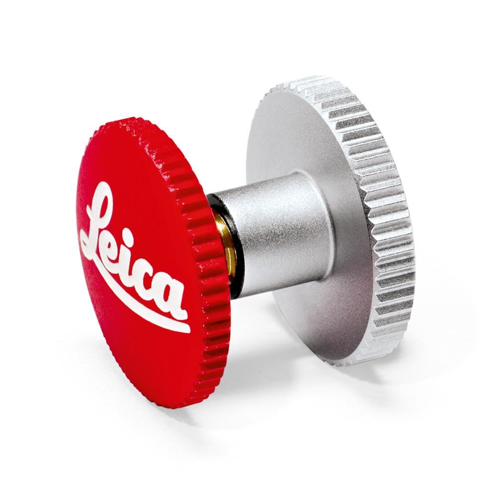 LEICA SOFT RELEASE BUTTON 8MM RED