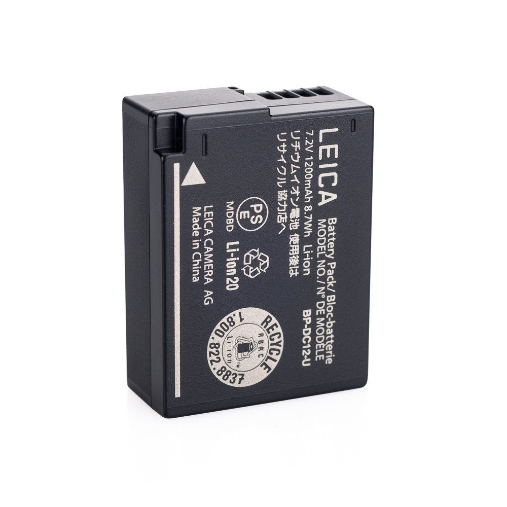 "LITHIUM-ION-BATTERY BP-DC12-E FOR V-LUX 4 AND V-LUX (TYP 114 ""E"",""A"")"
