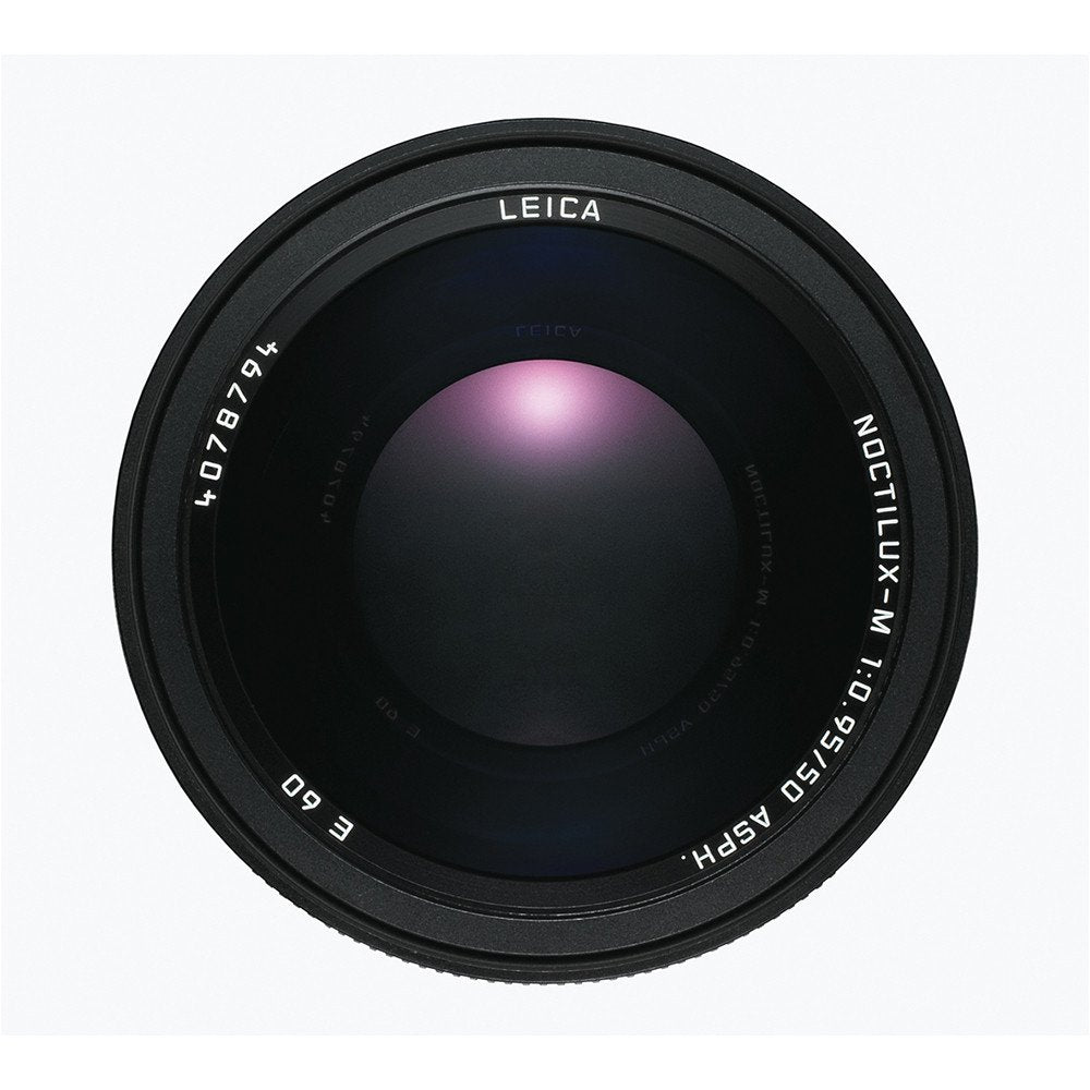 LEICA NOCTILUX-M 50MM f0.95 ASPH - BLACK ANODIZED FINISH