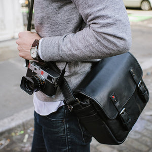 LEICA COLLECTION BY ONA, BERLIN LEATHER CAMERA BAG (2 OPTIONS)