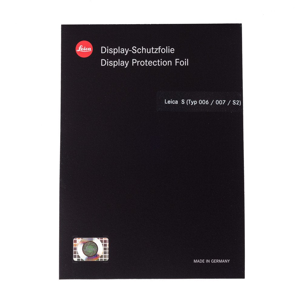LEICA DISPLAY PROTECTION FOIL FOR S2, S (TYP 006/007)