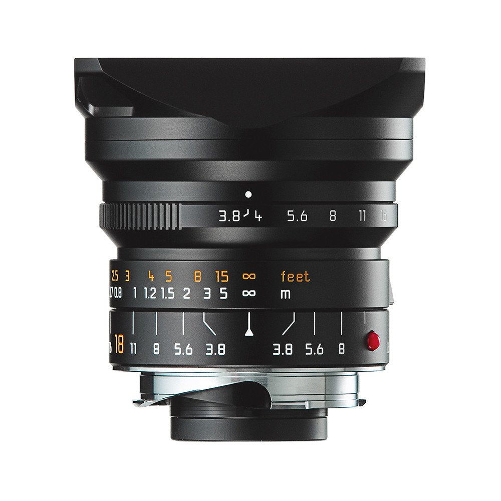 LEICA SUPER-ELMAR-M 18mm f/3.8 ASPH. BLACK ANODIZED