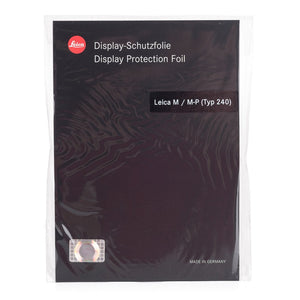 DISPLAY PROTECTION FOIL FOR LEICA M / M-P (TYP 240)