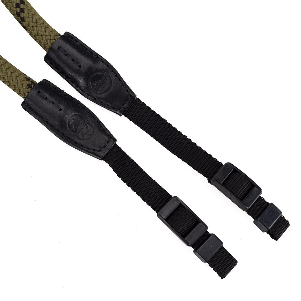 "LEICA ROPE STRAP ""SO"", OLIVE, 100CM, DESIGNED BY COOPH"