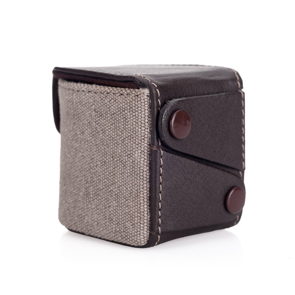 LEICA X PROTECTION CASE VISOFLEX (TYP 020), CANVAS, TAUPE (COUNTRY)