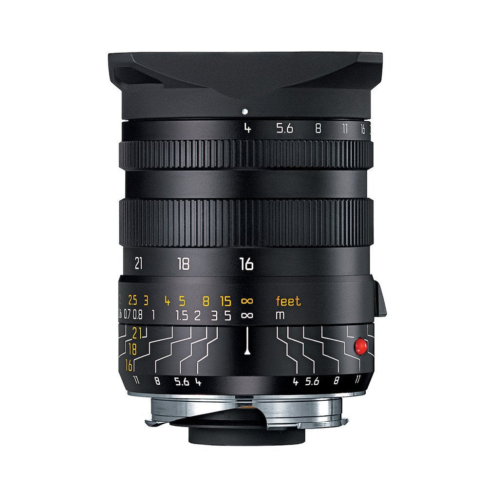 LEICA TRI-ELMAR-M 16-18-21mm f/4 ASPH. WITH UNIVERSAL WIDE ANGLE FINDER