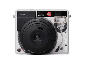 "LEICA SOFORT ""RADIO DEEJAY"" WHITE, INSTANT CAMERA"