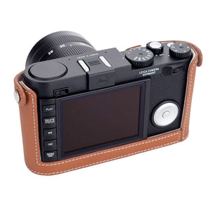 LEICA X VARIO CAMERA PROTECTOR COGNAC LEATHER
