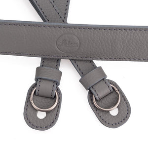 LEICA LEATHER CARRYING STRAP CEMENT
