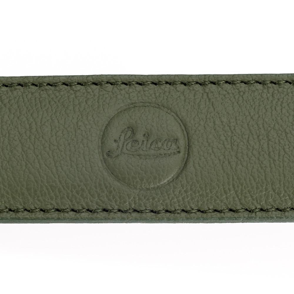 LEICA LEATHER CARRYING STRAP KHAKI