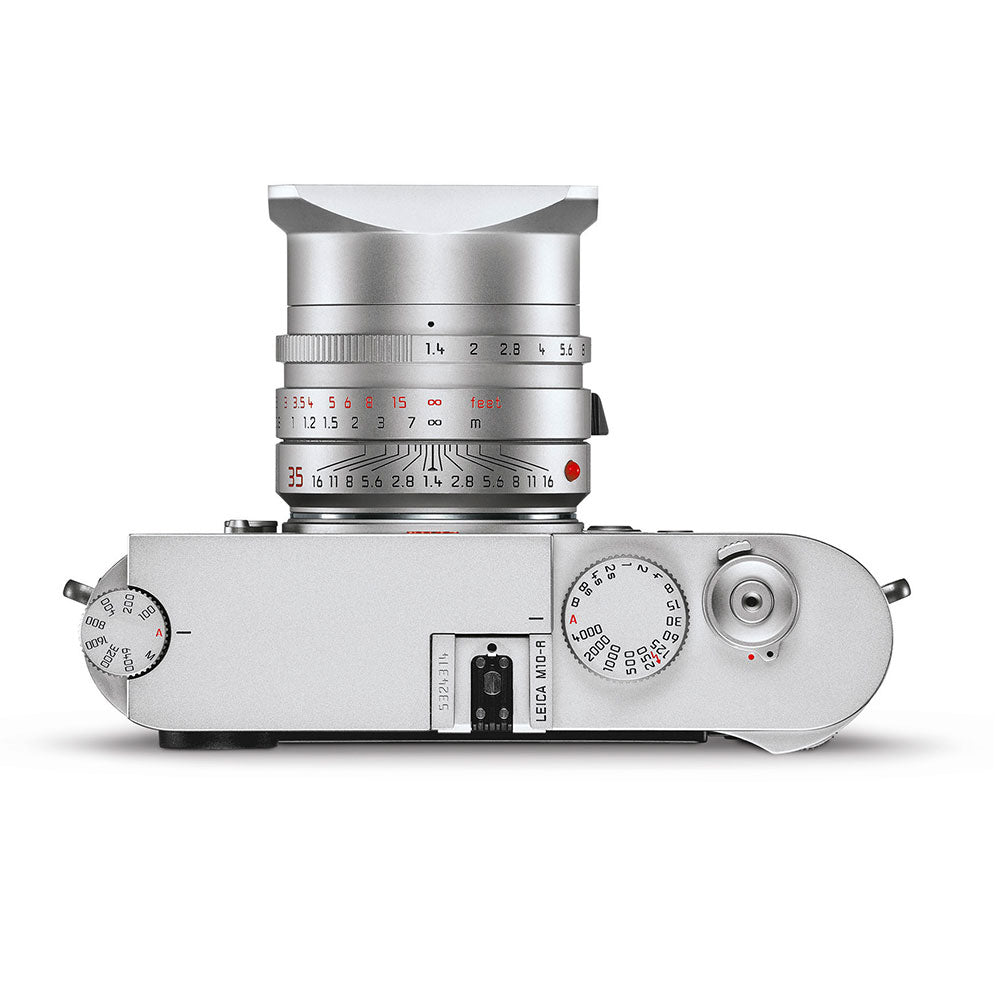 LEICA M10-R, SILVER CHROME FINISH