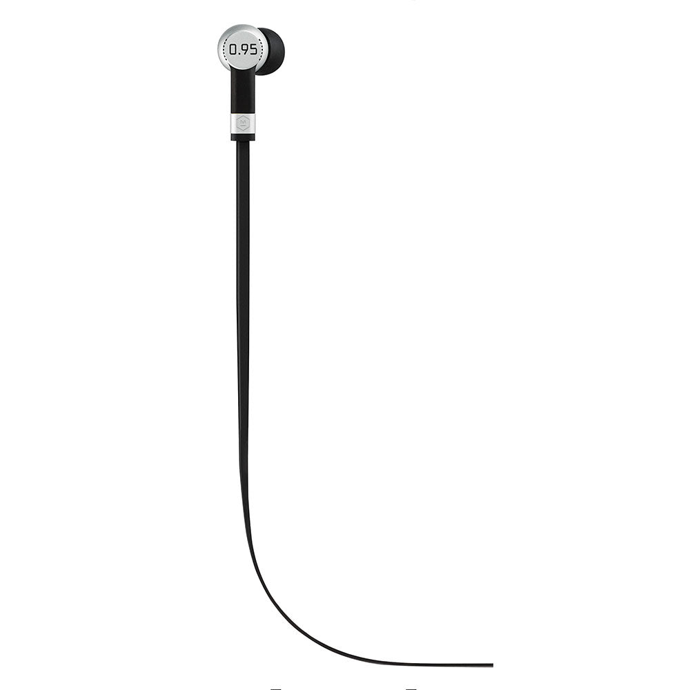 MASTER & DYNAMIC 0.95 COLLECTION ME05S-95 EARPHONES (SILVER)
