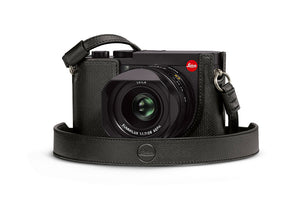 LEICA Q2 LEATHER CARRYING STRAP, BLACK