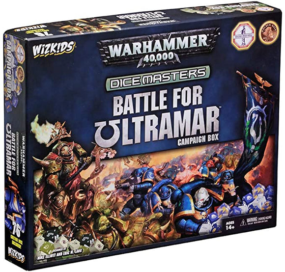 WizKids Warhammer 40,000 Dice Masters: Battle for Ultramar Campaign Box