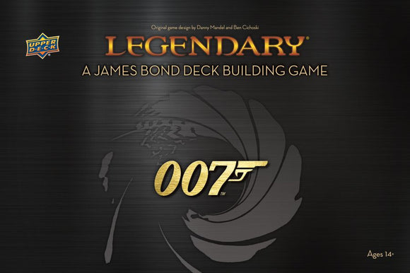 Legendary DBG: 007 - A James Bond Deck Building Game (stand alone)
