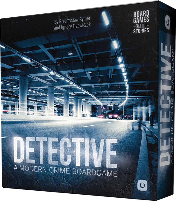 Detective: A Modern Crime Board Game