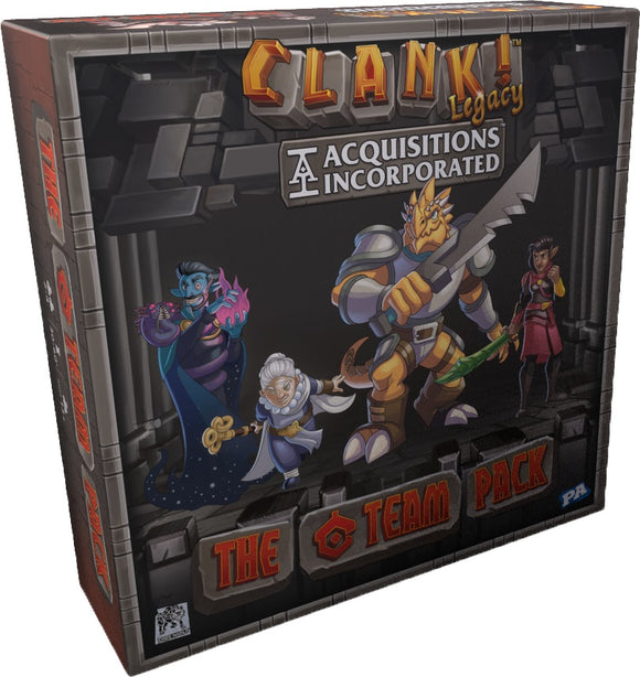 Clank!: Legacy - Acquisitions Incorporated - The `C` Team Pack
