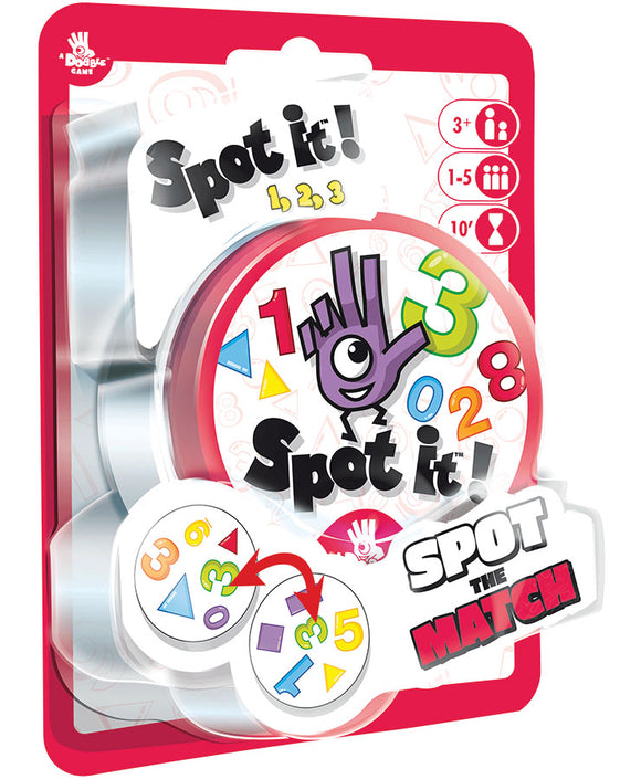 Spot It!: 123 (peg/blister)
