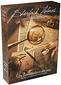 Sherlock Holmes Consulting Dective - The Thames Murders & Other Cases
