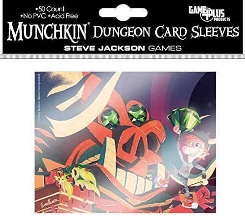Steve Jackson Games Munchkin Dungeon Card Sleeves