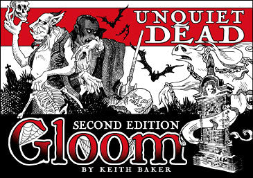 Gloom: Unquiet Dead Expansion 2nd Edition