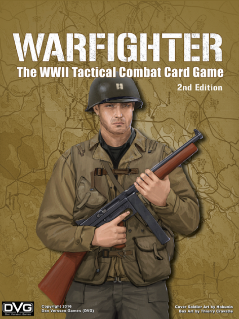 Warfighter WW2 Tactical Combat Card Game 2nd Edition