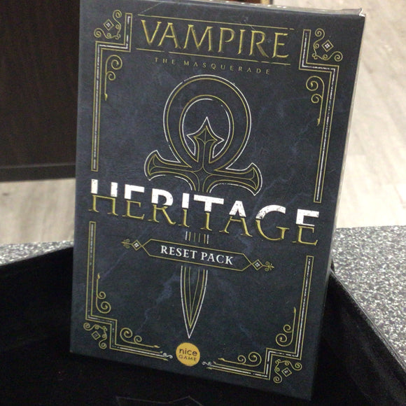 Vampire: The Masquerade - Heritage Legacy Card Game RESET KIT