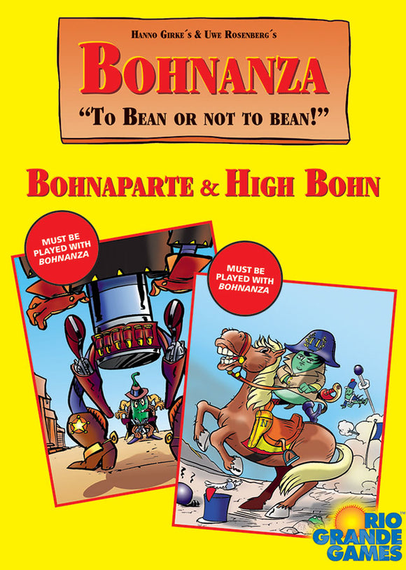 Bohnanza: High Bohn plus Bohnaparte