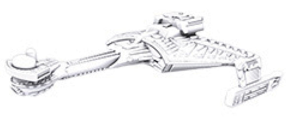Star Trek Deep Cuts Unpainted Ships: K`t`inga Class