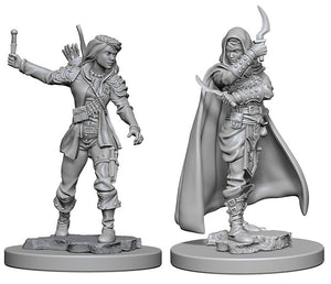 Pathfinder Deep Cuts Unpainted Miniatures: W1 Human Female Rogue