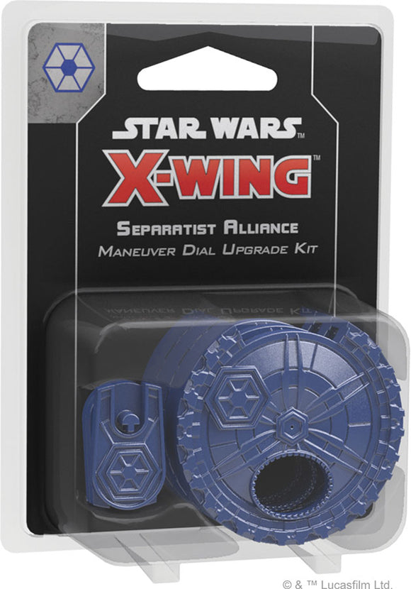 Star Wars X-Wing: 2nd Edition - Separatist Alliance Maneuver Dial Upgrade Kit