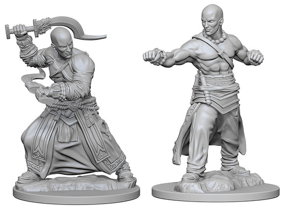 Pathfinder Deep Cuts Unpainted Miniatures: W1 Human Male Monk