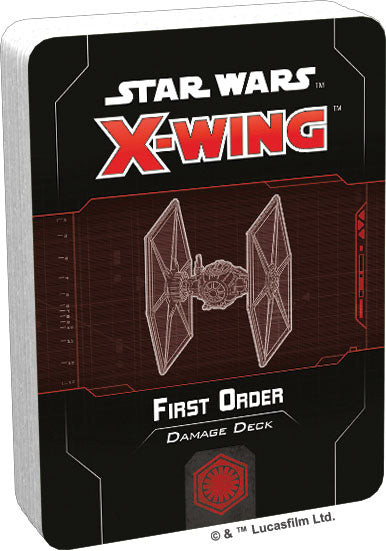 Star Wars X-Wing: 2nd Edition - First Order Damage Deck