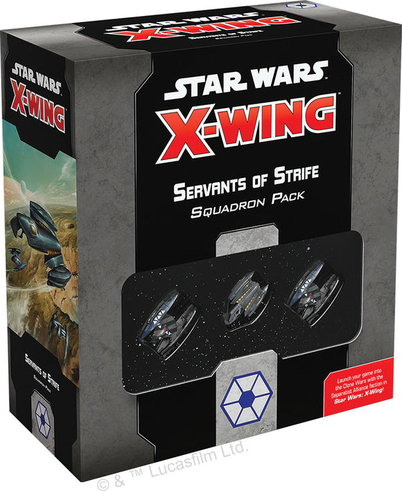 Star Wars X-Wing: 2nd Edition - Servants of Strife Squadron Pack