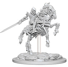 Pathfinder Deep Cuts Unpainted Miniatures: W5 Skeleton Knight on Horse