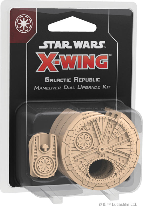 Star Wars X-Wing: 2nd Edition - Galactic Republic Maneuver Dial Upgrade Kit