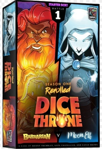 Dice Throne: Season 1 Rerolled - Box 1 - Barbarian vs. Moon Elf