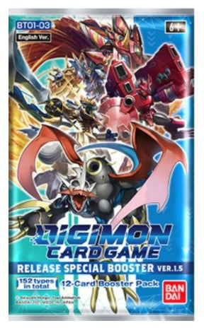 Digimon Release Special Booster Ver 1.5 Pack