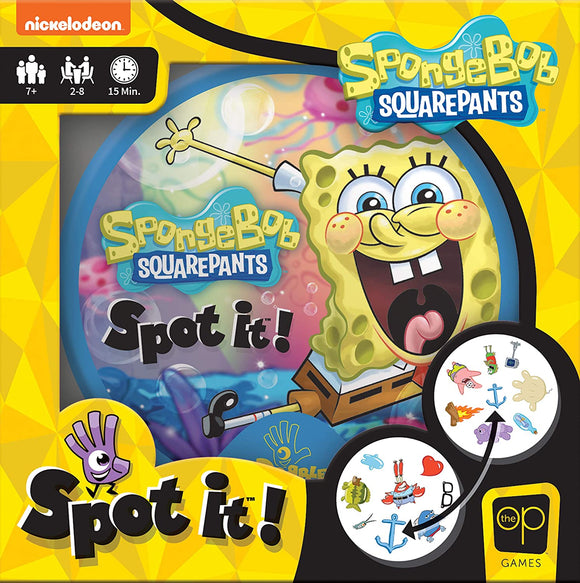 Spot It!: SpongeBob SquarePants