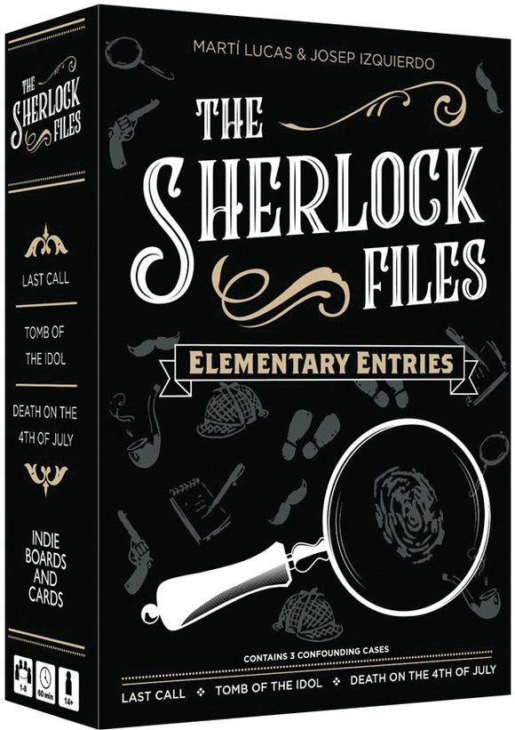 Sherlock Files: Vol. I - Elementary Entries