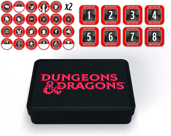 Dungeons and Dragons RPG: Dungeon Master Token Set