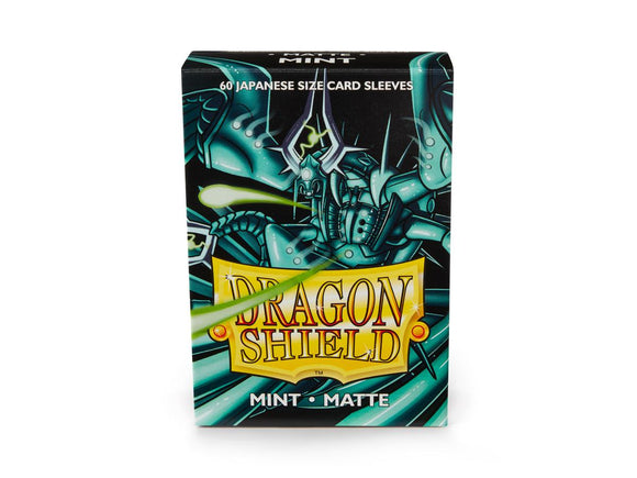 Dragon Shield: Japanese Sleeves (60) Matte Mint